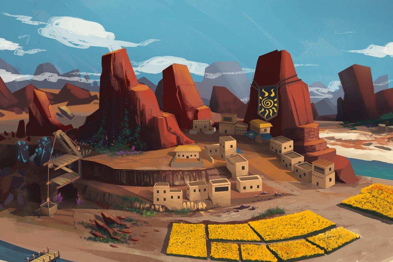 Portfolio for Environment / Game Level Concept