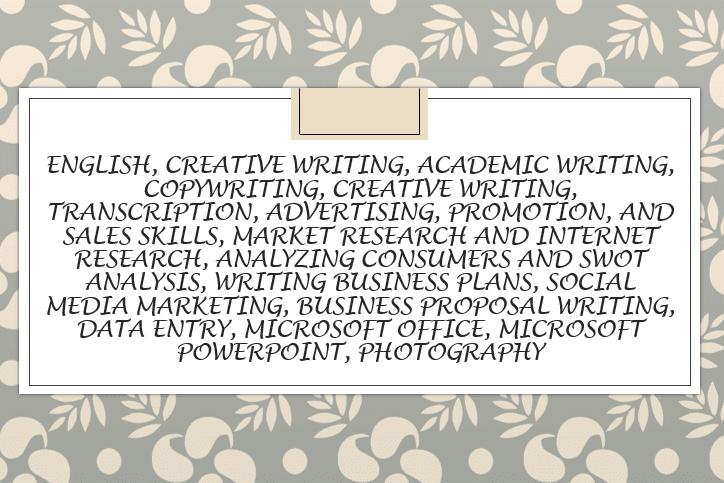 Portfolio for Economist,Business Plan Writer,Copywrite