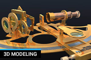 Portfolio for 3D modeling and texturing