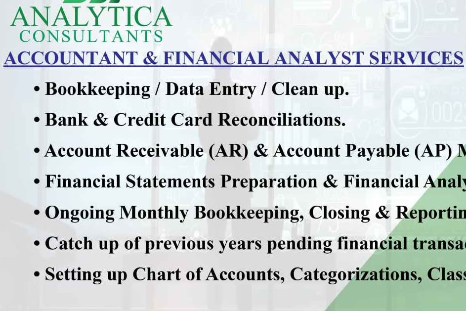 Portfolio for Accounting and Financial BPO services