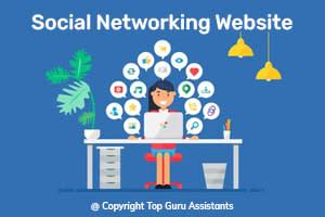 Portfolio for Social networking Website
