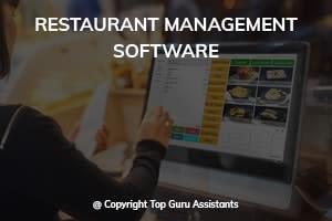 Portfolio for Restaurant Management Software