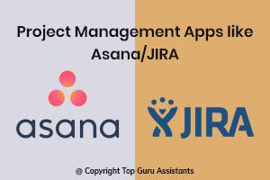 Portfolio for Project Management Apps like Asana/JIRA