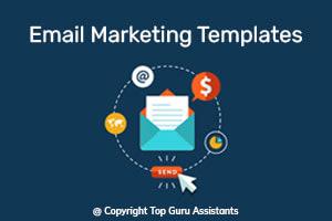 Portfolio for Email Marketing Templates