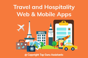 Portfolio for Travel and Hospitality Web & Mobile Apps