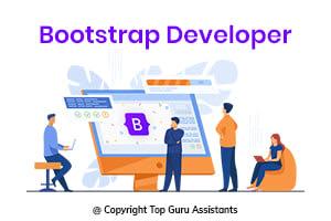 Portfolio for Hire Bootstrap Developer