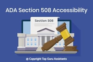 Portfolio for ADA Section 508 Accessibility | WCAG 2.0
