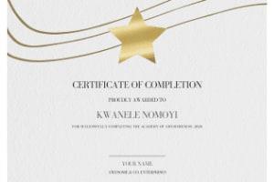 Portfolio for Certificate Design