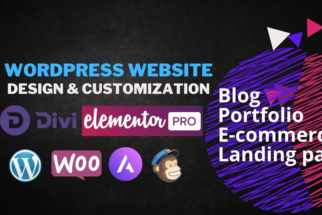 Portfolio for Web development and Wordpress