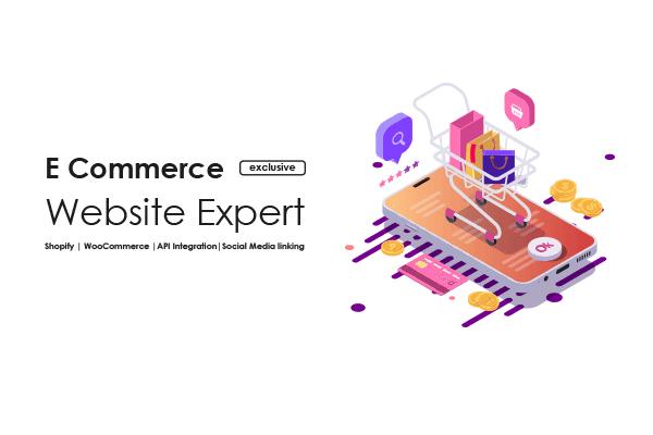 Portfolio for Custom E-Commerce Web Designing