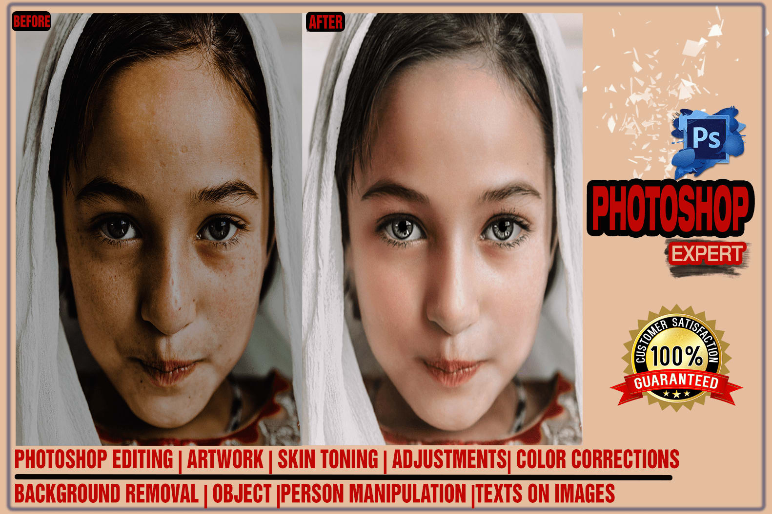 Portfolio for Adobe Photoshop manipulation and editing