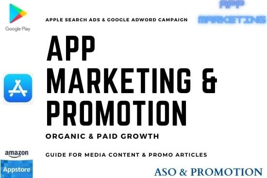 Portfolio for Mobile App Marketing and Game Promotion