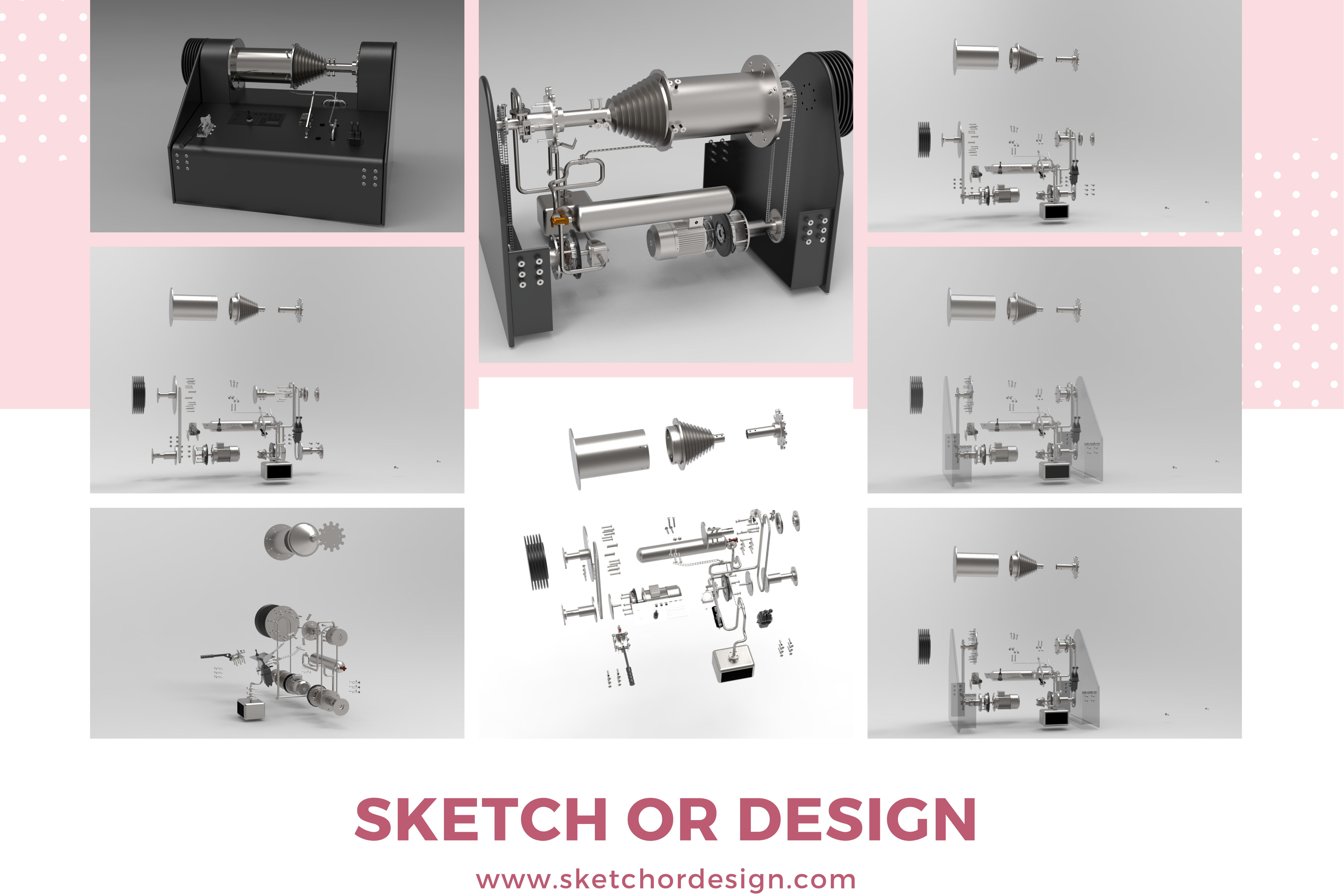 Portfolio for Fusion 360 |Design + Drawing + Rendering