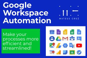 Portfolio for Google Apps Script Developer/Consultant