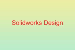 Portfolio for Solidworks Design 3D & 2D