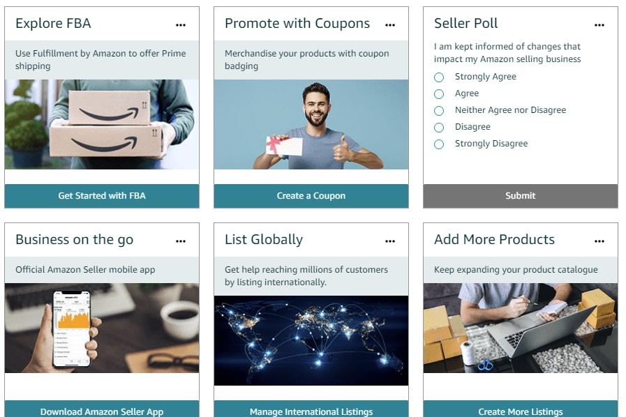 Portfolio for Amazon seller account Training