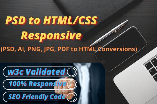 Portfolio for PSD to HTML/CSS