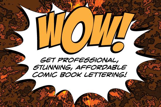 Portfolio for Comic Book Lettering