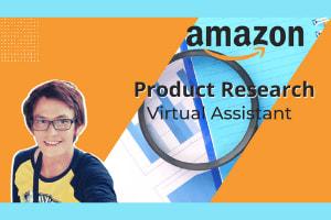 Portfolio for Amazon product Research