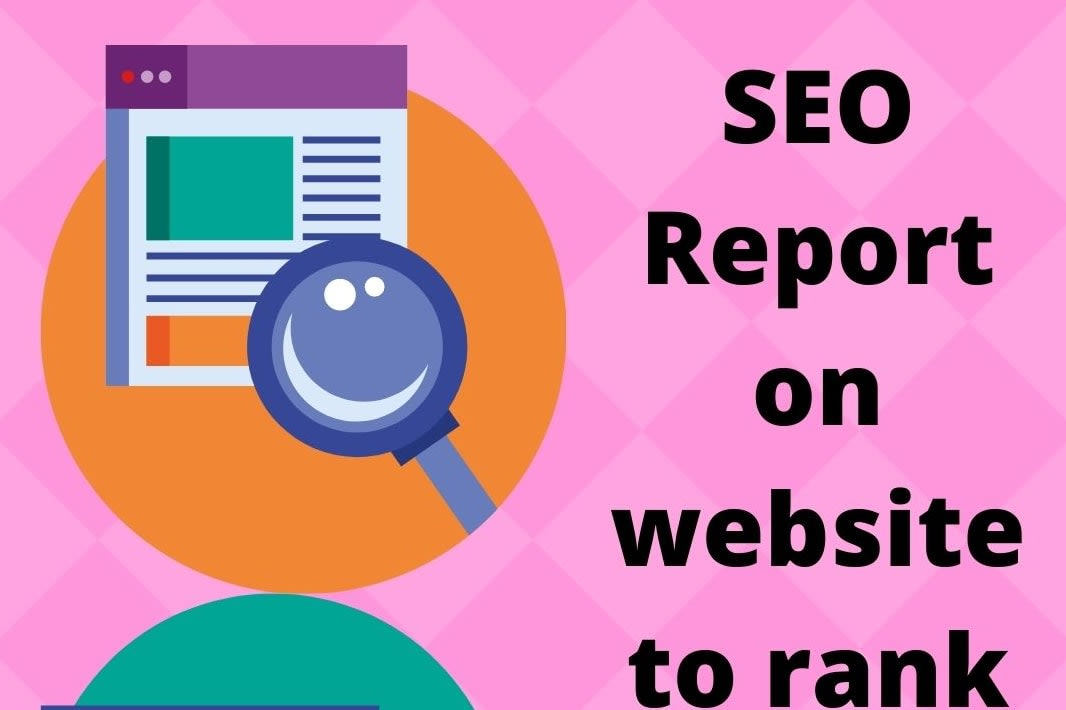 Portfolio for SEO report for website