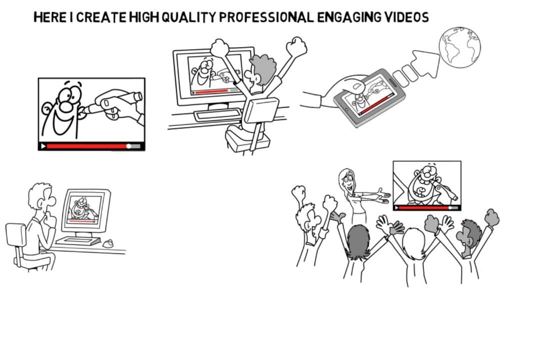 Portfolio for Whiteboard Animation & Explainer Videos