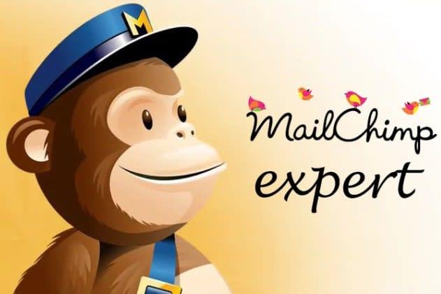 Portfolio for Mailchimp email template and integration