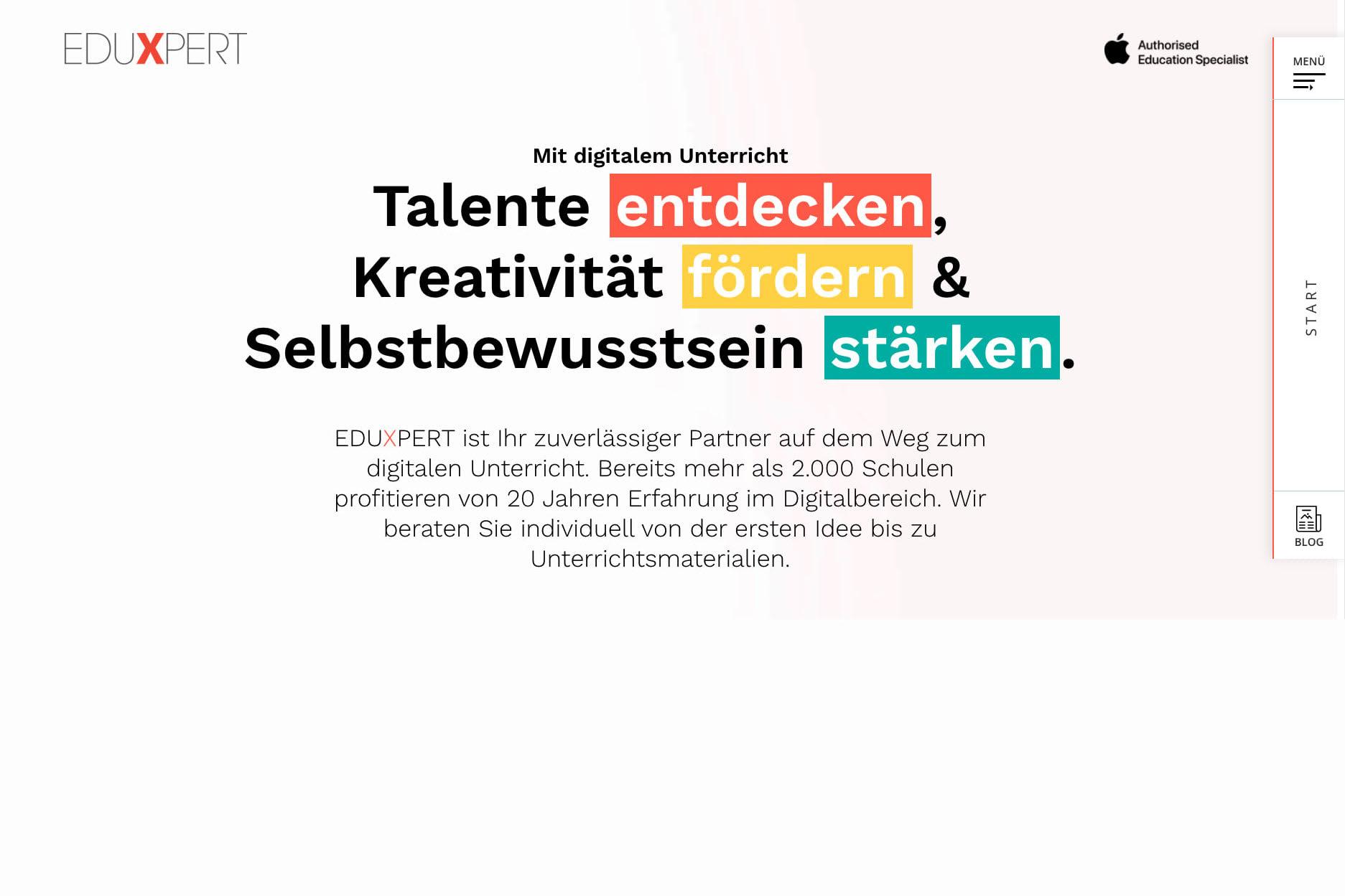 Portfolio for Creative & Professional looking website