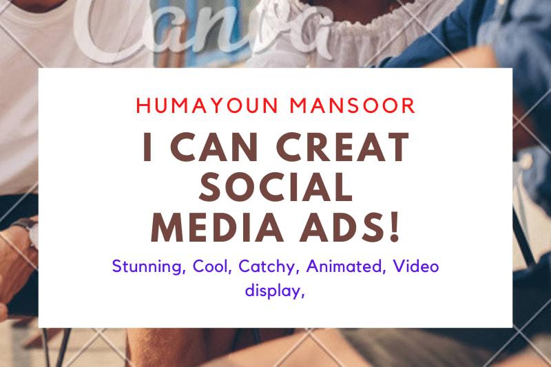 Portfolio for Social Media Ads