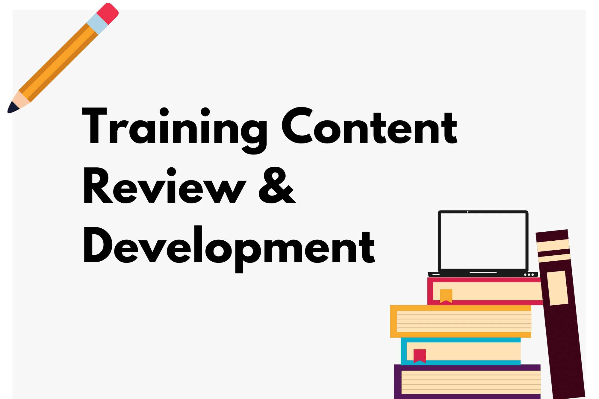 Portfolio for Training & eLearning Content Development