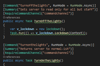 Portfolio for Custom Discord Bot Development
