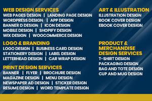 Portfolio for All type of web design & web Development