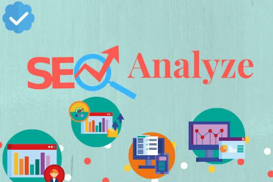 Portfolio for SEO analysis