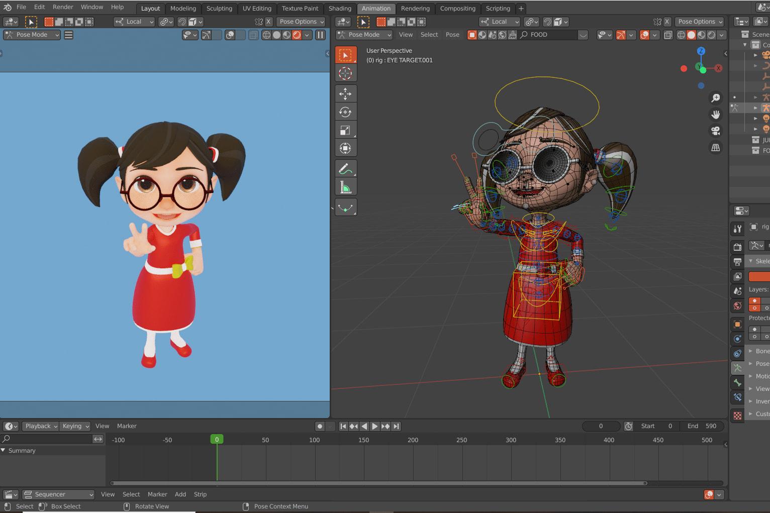 Portfolio for Blender 3D Generalist