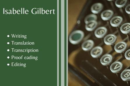Portfolio for Writing