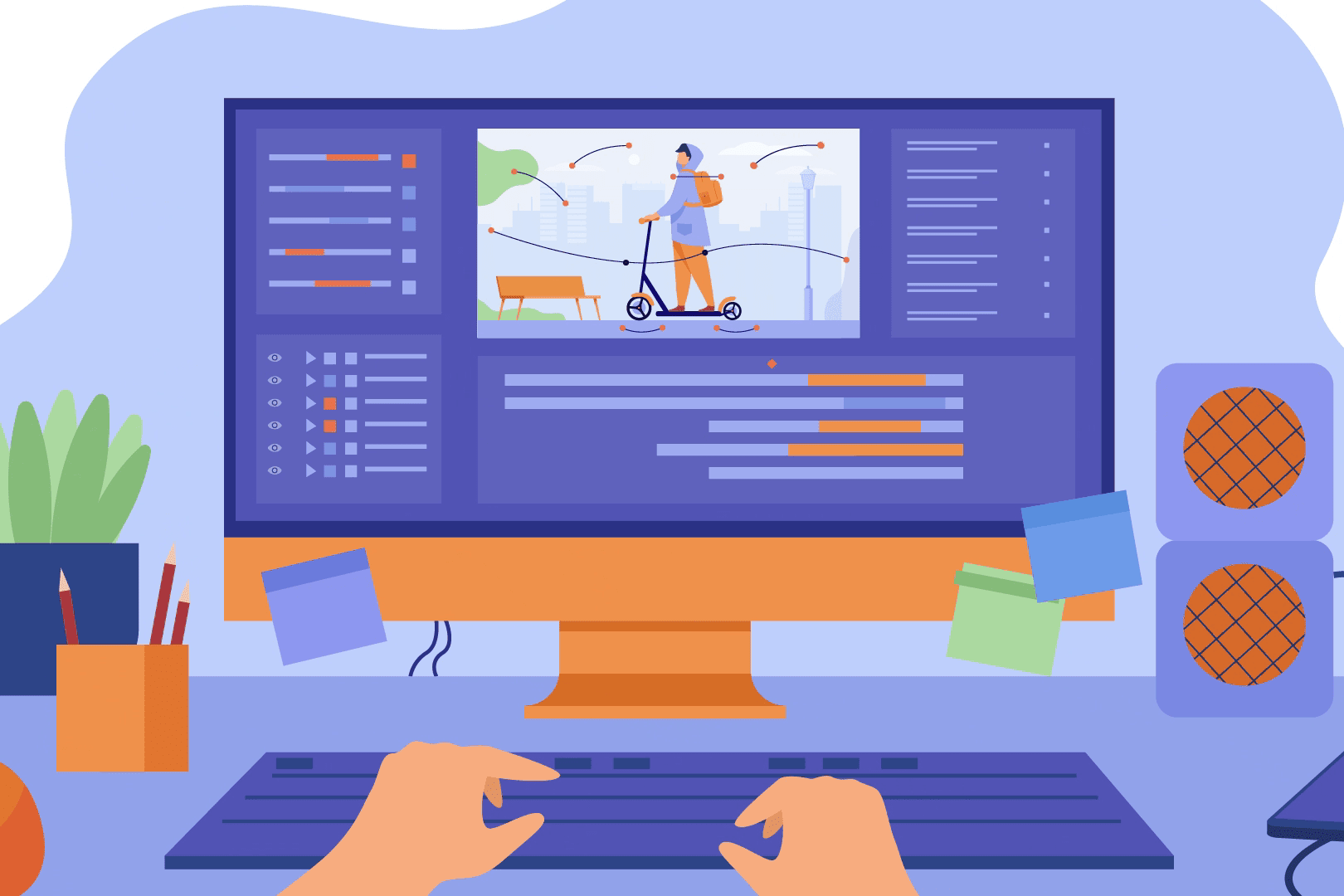 Portfolio for 2d animation explainer