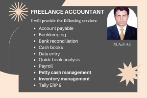 Portfolio for Accounting/Bookkeeping, Profit & Loss