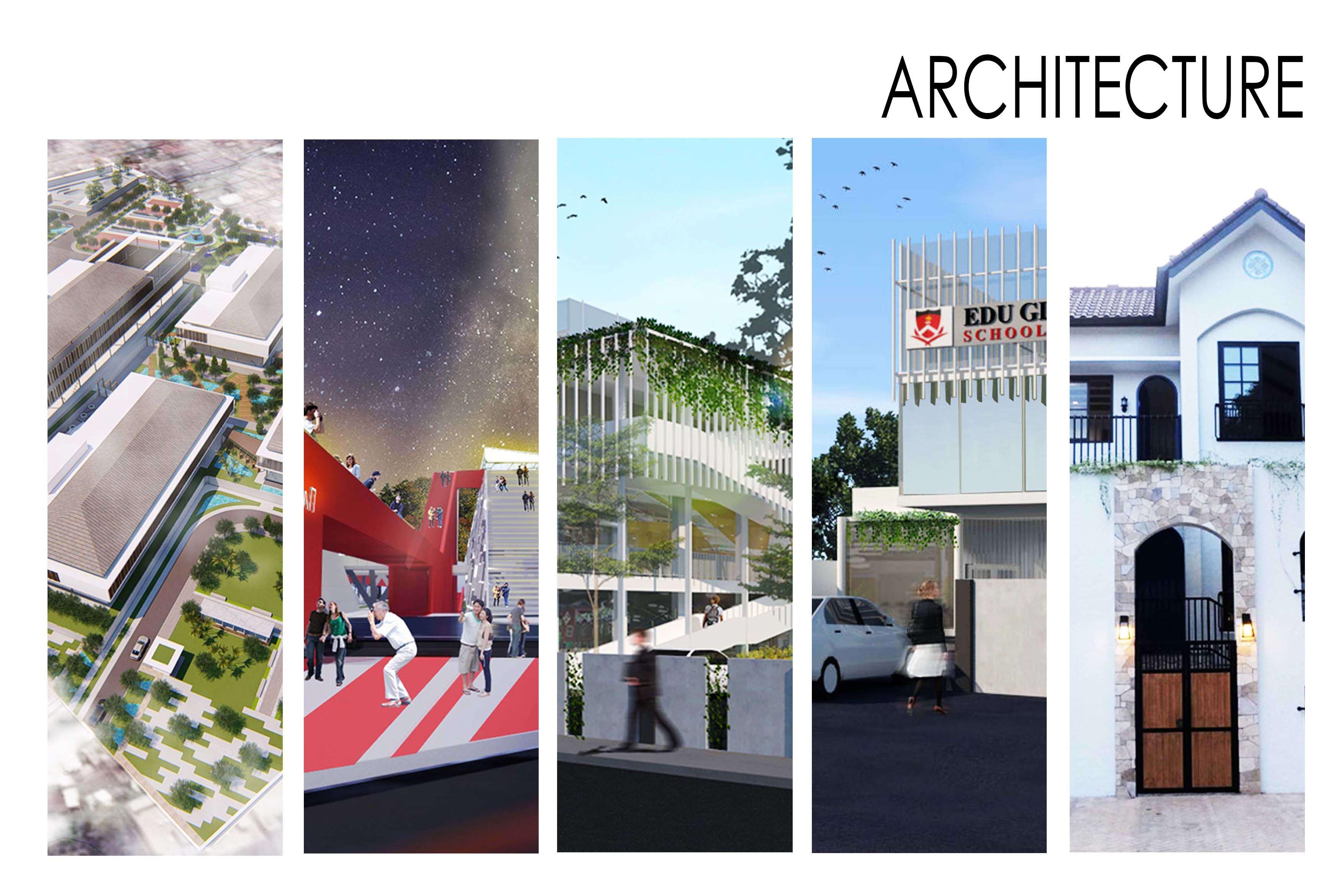 Portfolio for Architecture, Interior & Landscape