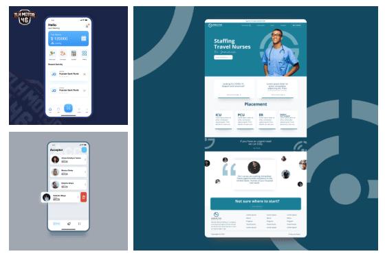 Portfolio for Graphic Design & UI/UX Design