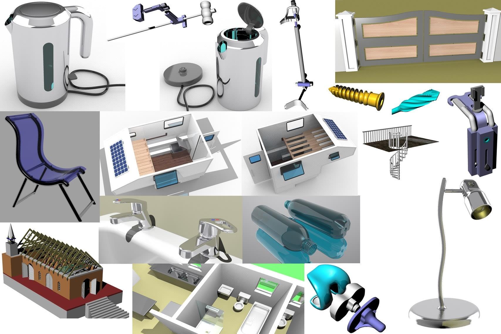 Portfolio for 3D Designing Draughtsman