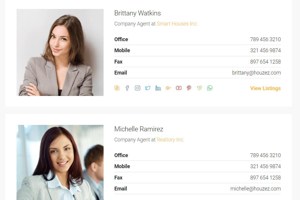 Portfolio for Wordpress(Real Estate)