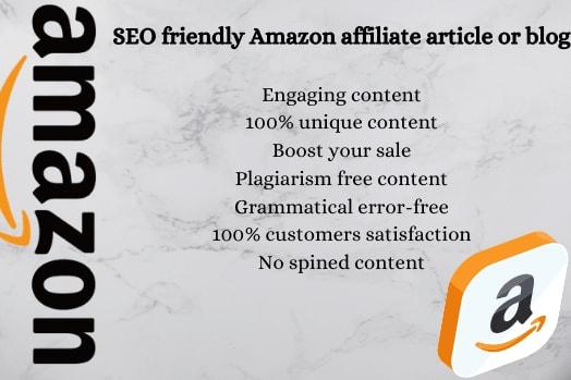 Portfolio for Amazon affiliate Articles/blogposts