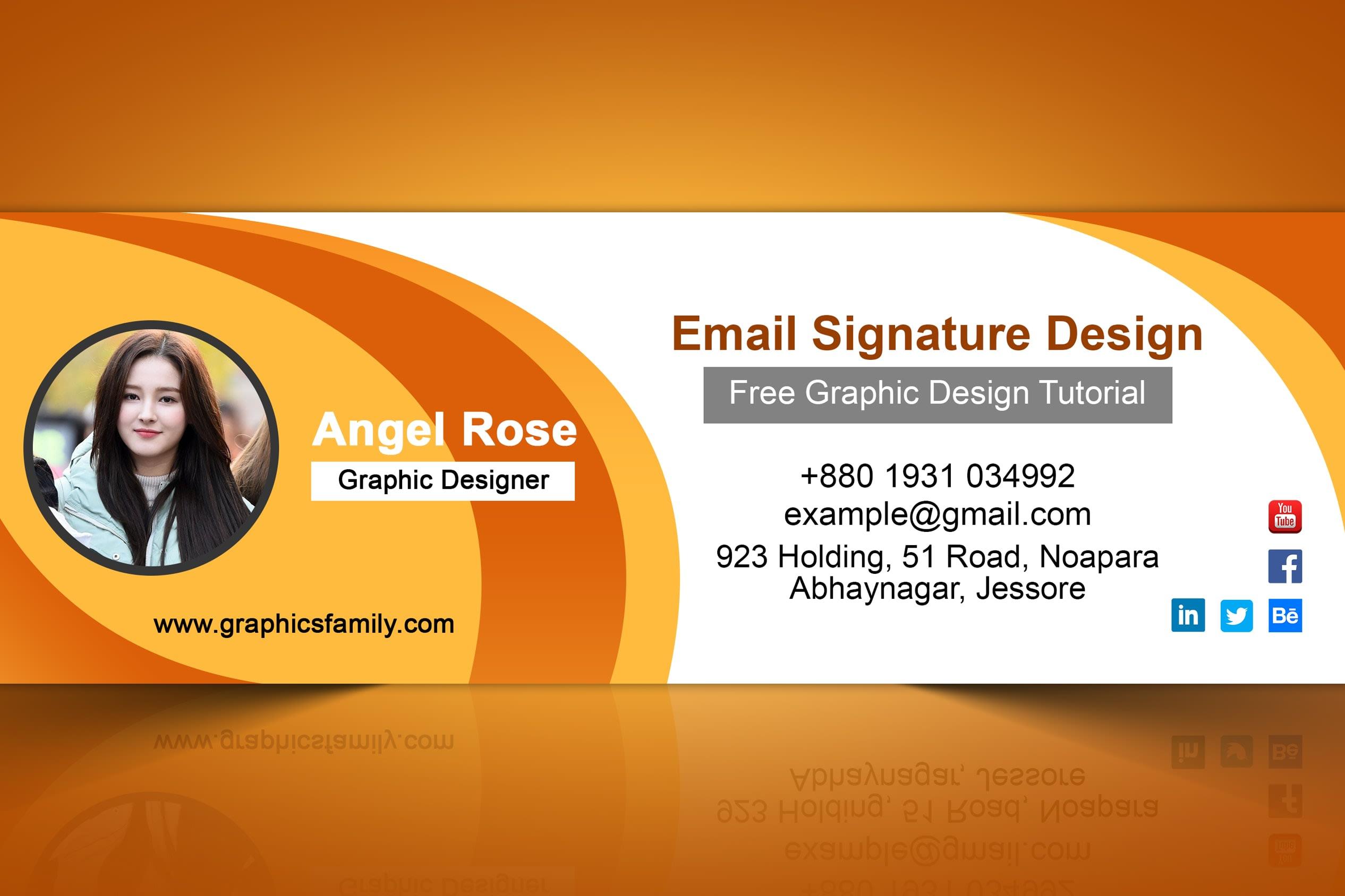 Portfolio for Email Signature