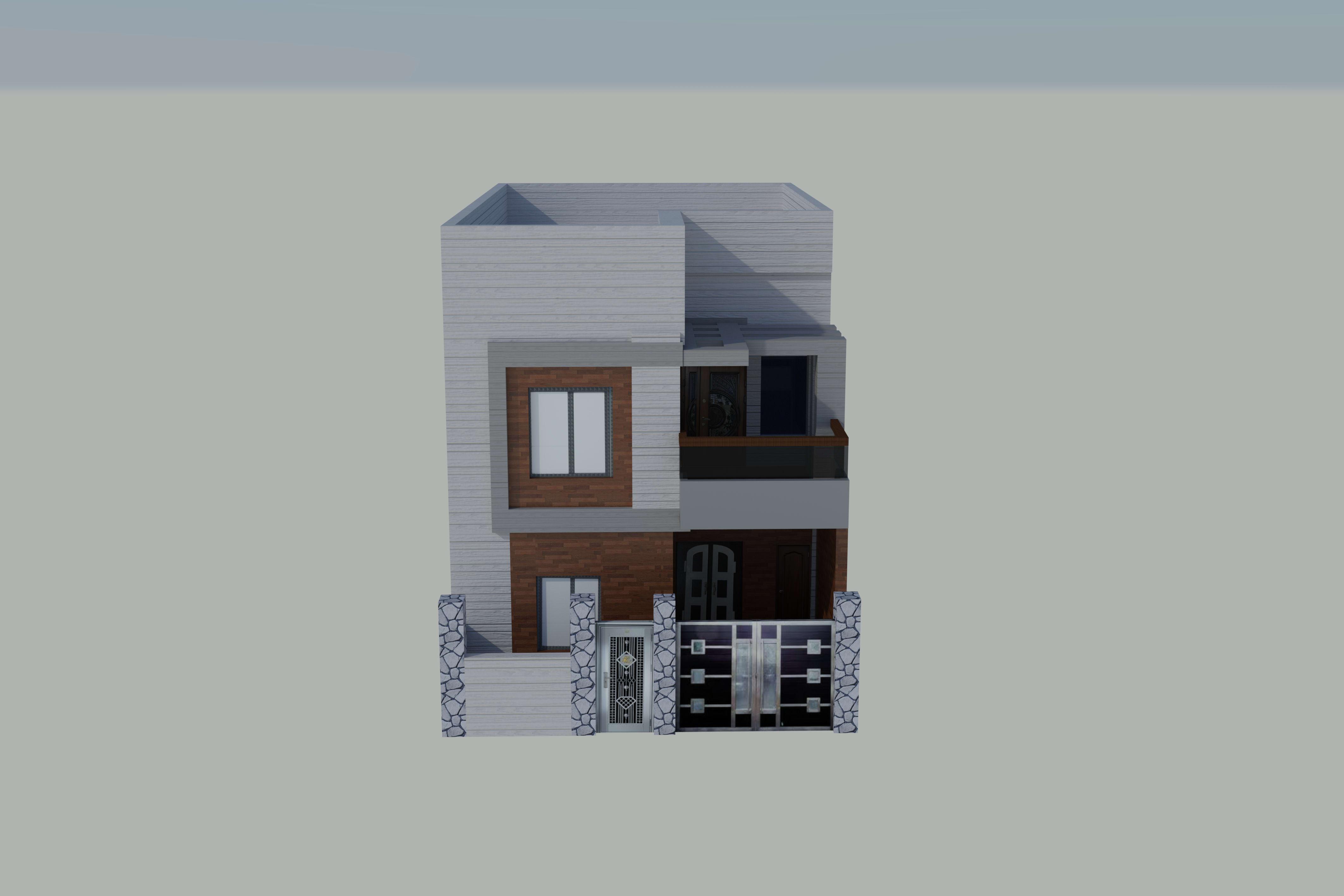 Portfolio for AutoCAD 2D/3D house design