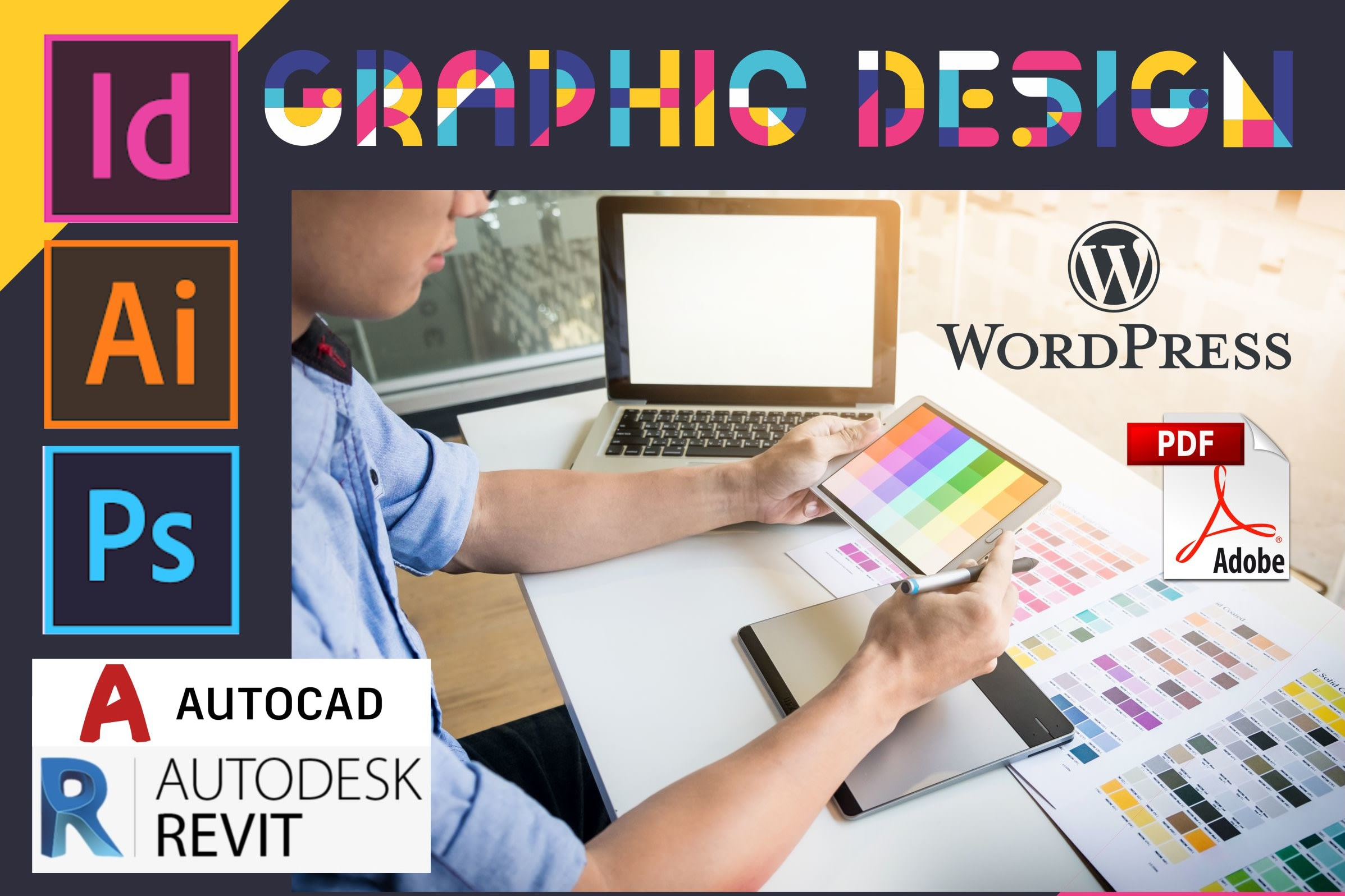 Portfolio for Graphic, Branding and Web Designing