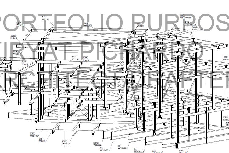 Portfolio for Steel Shop Drawings