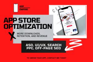 Portfolio for Mobile App Marketing - ASO