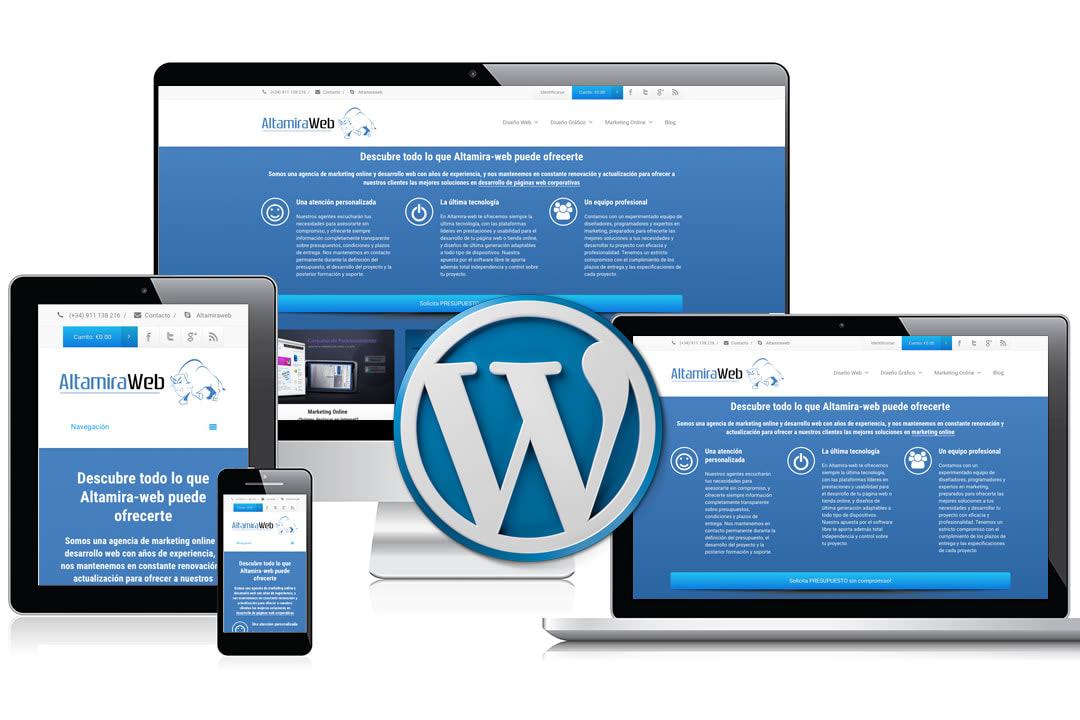 Portfolio for WordPress Website Development & Design