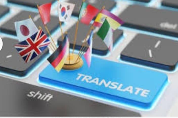 Portfolio for Language translation export