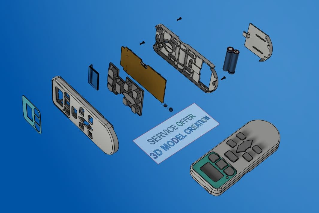 Portfolio for 3D/CAD Modeler