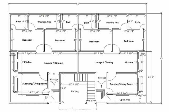 Portfolio for AutoCAD Draftsman | 2D Drawings